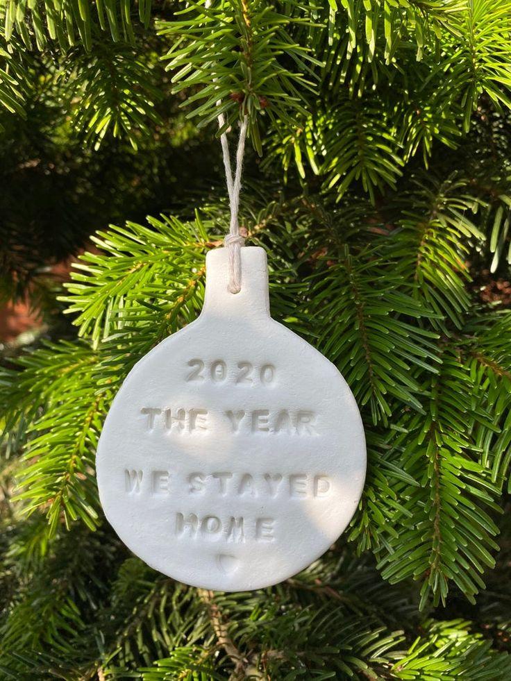 2020 Commemorative Christmas Ornament Clay Christmas