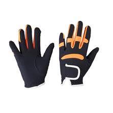 QHP Multi Colour Glove Dark Blue and Orange