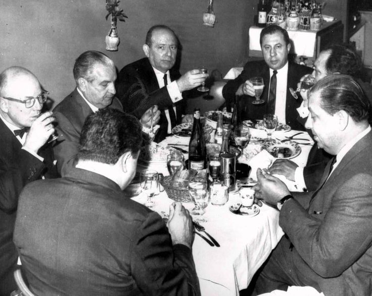 Thirteen mobsters were arrested September 22, 1966 at La Stella Restaurant in Queens on charges of consorting with criminals. A week later after appearing before the Queens Grand Jury, the men...