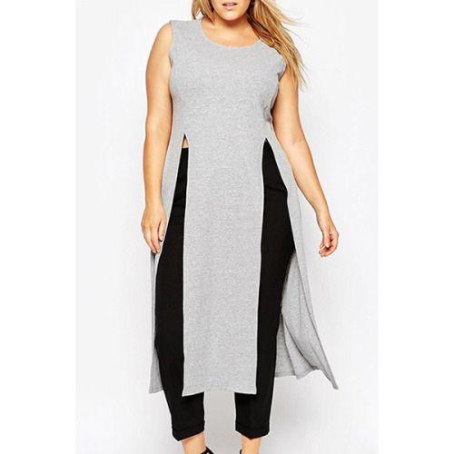 split hem tee  $16.79  plus size fashion plus size clothing hipster plus size grunge fachin tee tshirt top under20 under30 plus rosewholesale