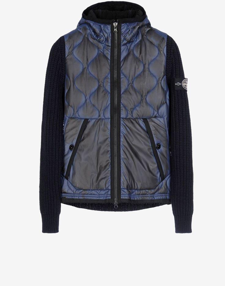 552D3 MAGLIA CON TESSUTO TERMO SENSIBILE Sweater Stone Island Men -Stone Island Online Store