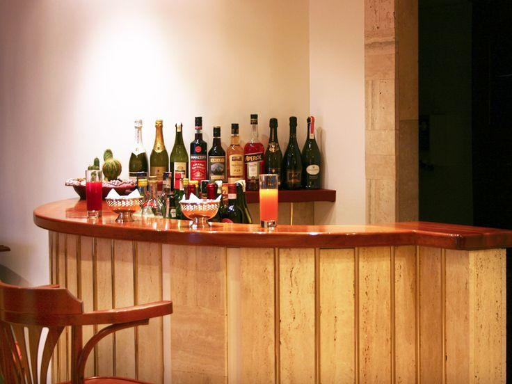 Drinking in Hotel Canova Roma