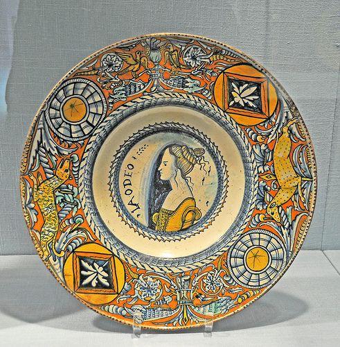 Maiolica- Plate (tagliere)     ca. 1500–1510 | by renzodionigi
