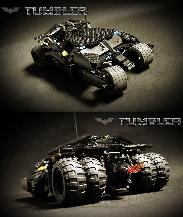 Motorized LEGO Tumbler: Where Does He Get Those Wonderful Toys?