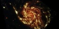Glowing Pinwheel Galaxy