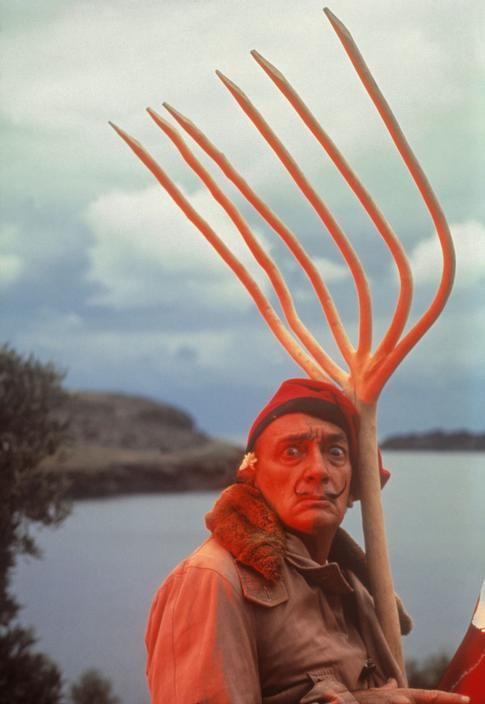 Salvador Dalí en Portligart