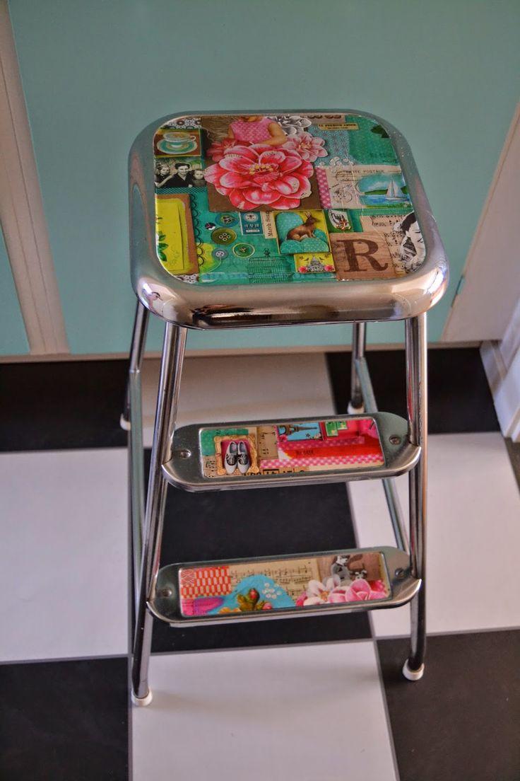 Lovely retro stool
