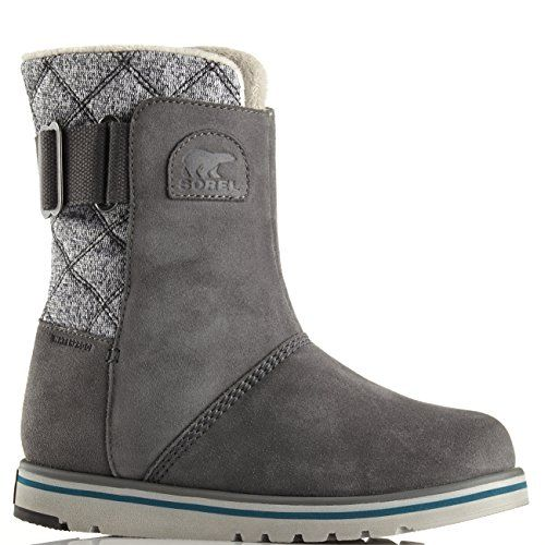 Womens Sorel Rylee Snow Warm Suede Winter Mid Calf Rain Waterproof Boots  Dark Fog  9 ** Find out more about the great product at the image link.