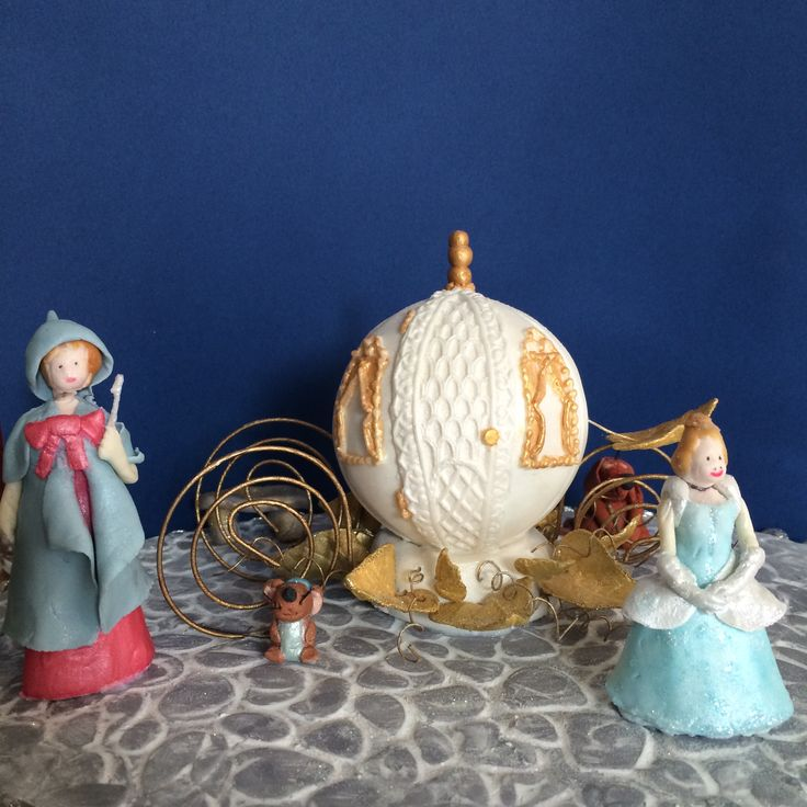 Cinderella Cake topper I made last year