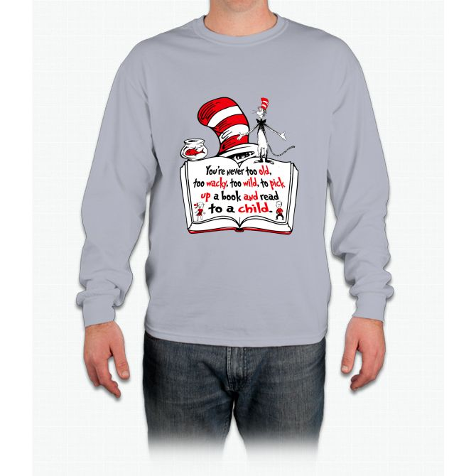 READ ACROSS AMERICA DAY !!! Long Sleeve T-Shirt