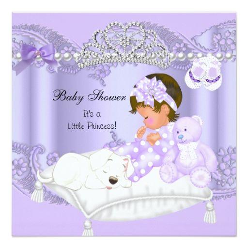 baby shower invitations princess theme little princess princess baby