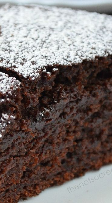 Moist Chocolate Cake (No Eggs, No Butter) Recipe