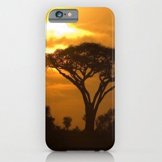 African sunset 5 iphone case, smartphone