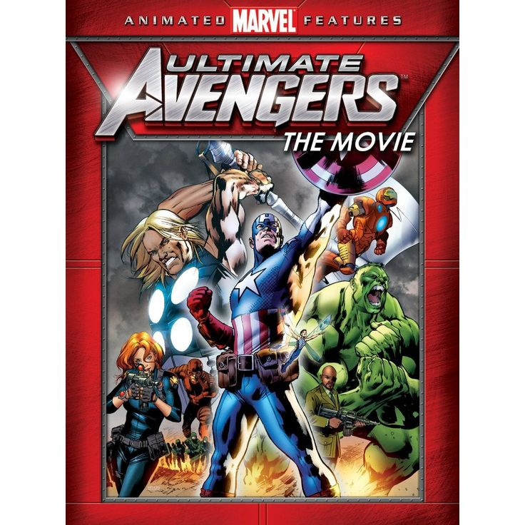 Ultimate Avengers Dvd Dvd Video Marvel animated movies