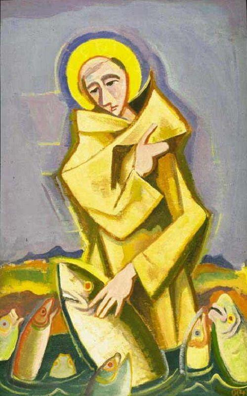 Karl Hofer - Heiliger Antonius (1948)