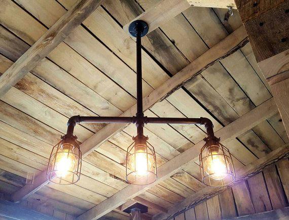 Rustic+Industrial+Lighting+Pool+Table+light+Modern+Industrial