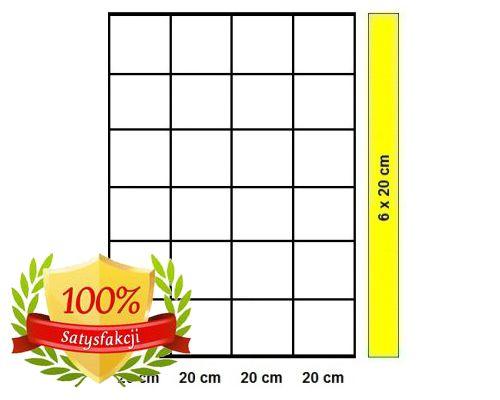 Siatka leśna - 120/7/20 L/K20 - rolka 25 m