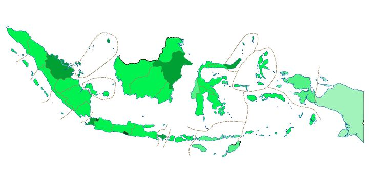 Provinces of Indonesia by Human Development Index rankings for 2015