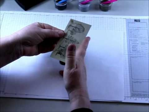 YouTube - great video on very effective use of Versamark and Stampin Up embossing powders.