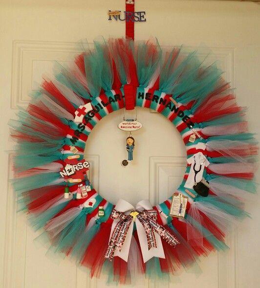 Nurse Themed Wreath.