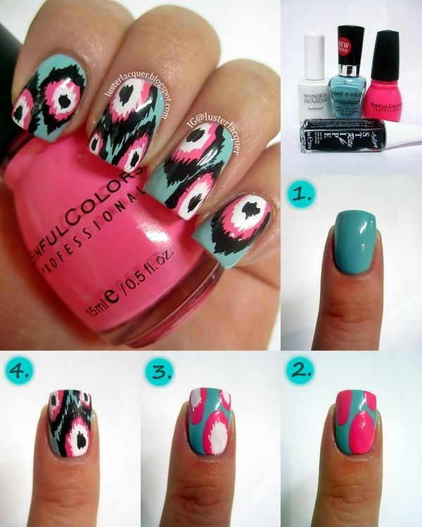 Best 25 nail designs tumblr ideas on pinterest tumblr nail art the best diy projects diy ideas and tutorials sewing paper craft diy diy tips nails art 2017 2018 ikat nails tutorial read more prinsesfo Choice Image