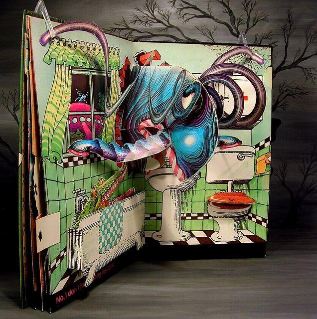 Children's pop up books | Jan Pienkowski Haunted House Children's Pop-Up Book pg 4 - a photo on ...