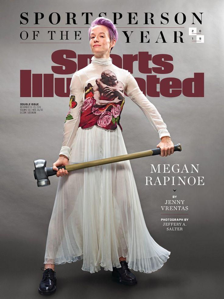 Sports Illustrated December 16, 2019 Megan rapinoe