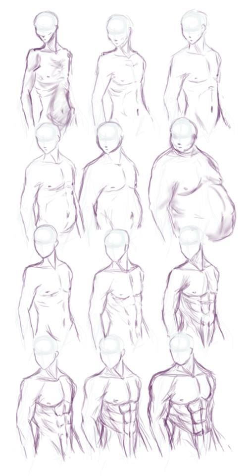 #Anatomia | Como Desenhar Mangá: Anatomia