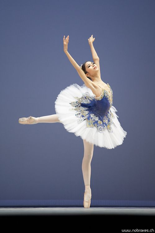 Kono Mai performing a variation from Raymonda at the Prix de Lausanne 2007.  Photo (c) Thierry Jayet.