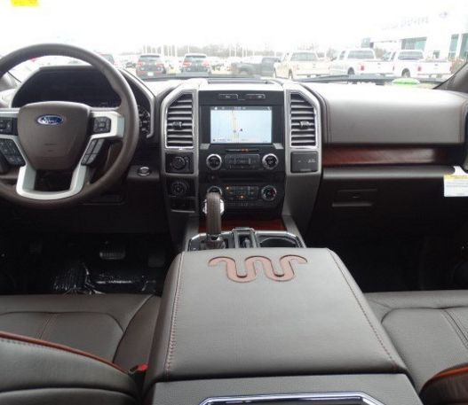 Take a look inside the 2016 #Ford F-150 King Ranch.