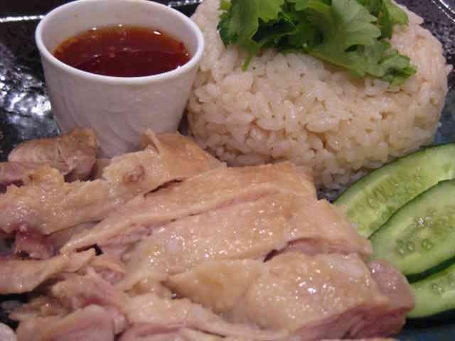 超簡単な海南鶏飯シンガポールチキンライスの画像