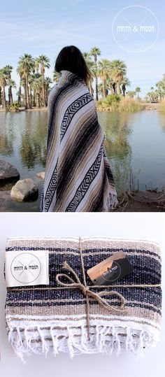 Campo Falsa Blanket by Mntn & Moon // Authentic handwoven Mexican blankets