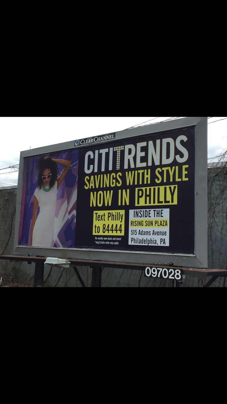 Thanks to cititrends for this great #textmessagemarketing billboard 84444
