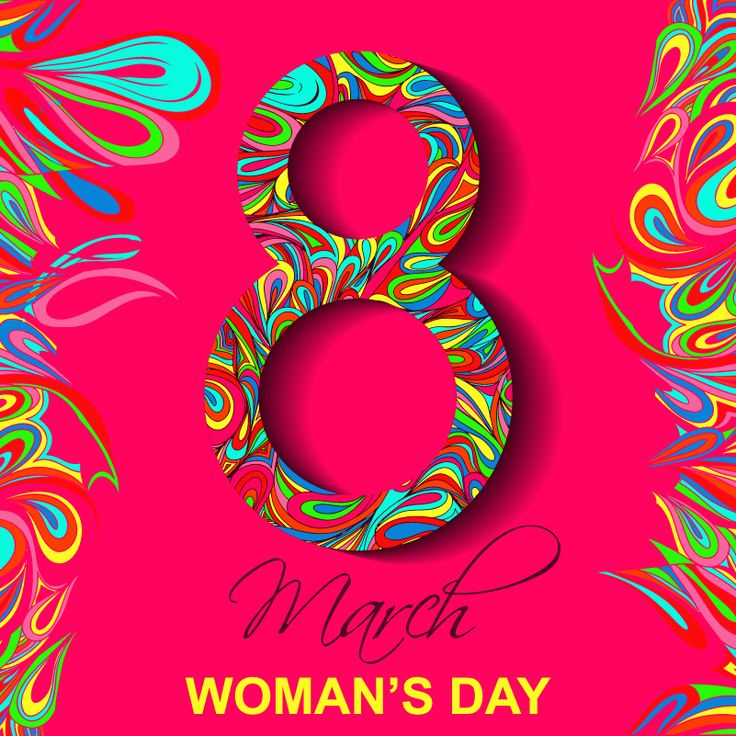 woman's day poster for desktop