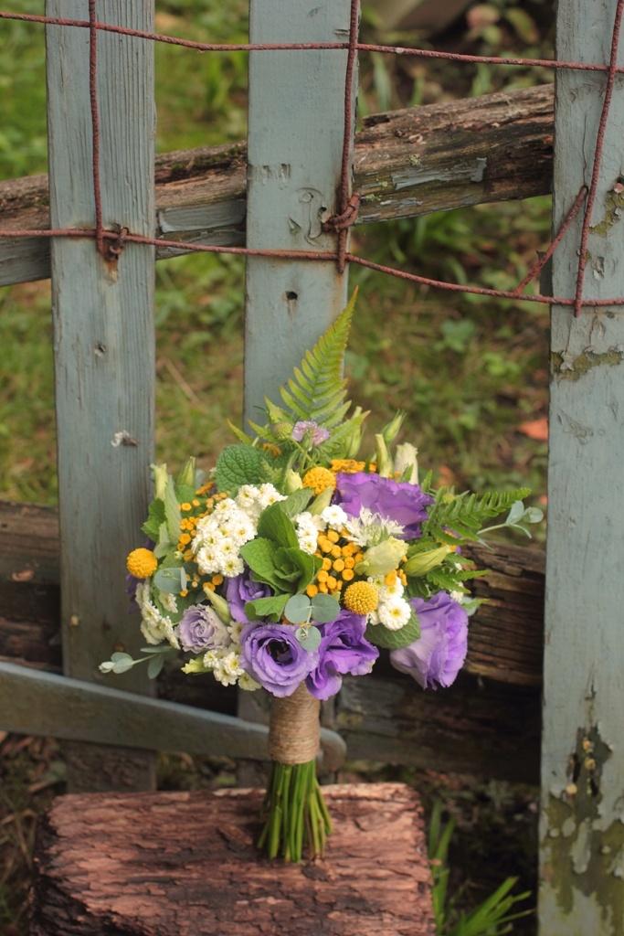 Bridesmaid bouquet, mid-August