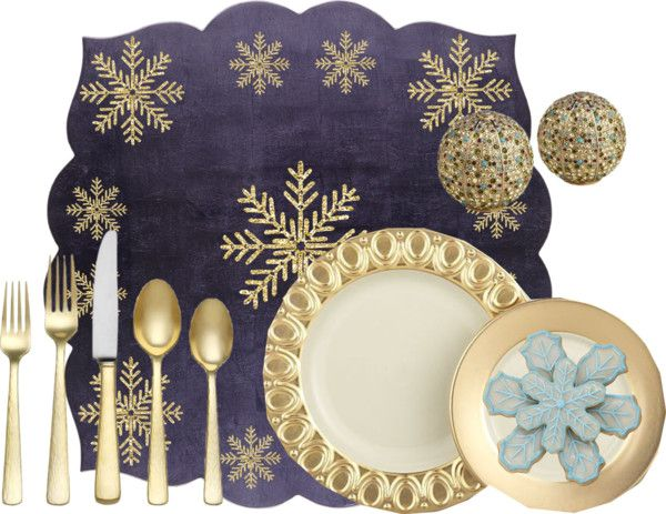 """""""Holiday Placemat"""" by sjlew on Polyvore"""