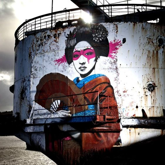 Claiming that the local council are actively hampering plans for renovation, graffiti collective DuDug are pushing forward with plans to transform the ship into an outdoor gallery – and artists from around the world have already made their way to the Flintshire coast to show off their wares...