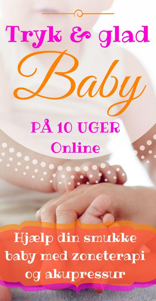 tryk de rigtige steder for at hjælpe din baby mod forstoppelse