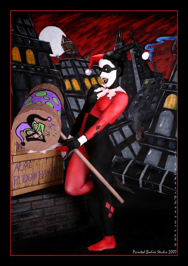 Airbrush Joker Wallpaper: 129 Best Images About Miss Harley Quinn On Pinterest