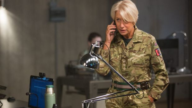 Helen Mirren as Colonel Katherine Powell in the thriller Eye in the Sky.