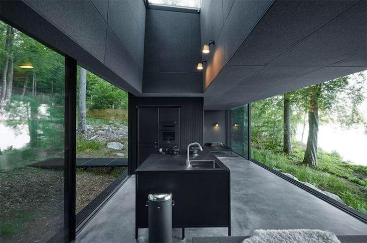 ambiance scandinave et architecture de design nordique
