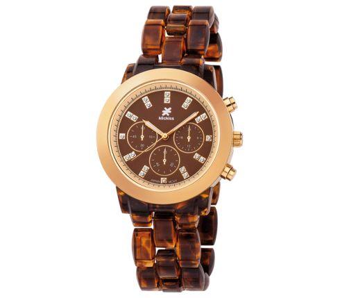Reloj con Caja en aleación metálica chapado en oro especial I.P.G. - Cristian Lay