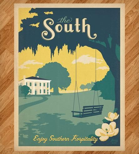 Southern Plantation Print by Anderson Design Group on Scoutmob Shoppe