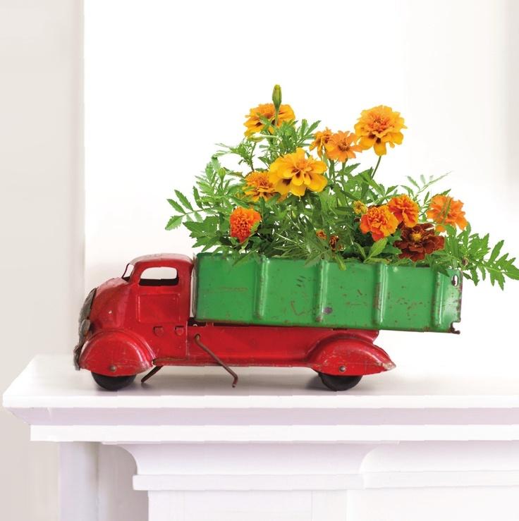 ~Leuk idee ter bloem-decoratie~
