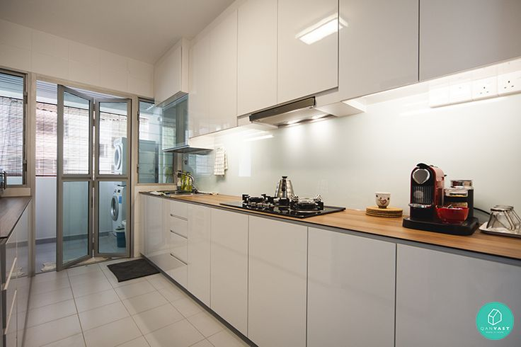 Flipside Design Punggol Sumang Link Scandinavian Kitchen