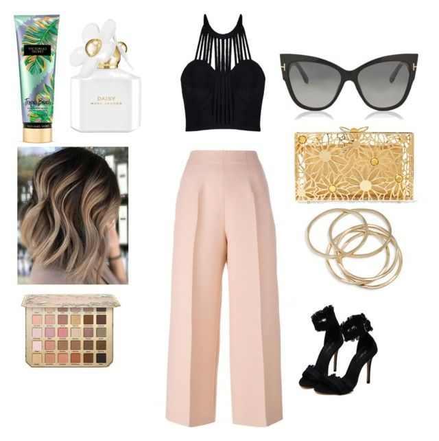 """Dinner look 🍯🍷"" by marango1706 on Polyvore featuring moda, Fendi, Charlotte Olympia, Tom Ford, ABS by Allen Schwartz, Victoria's Secret y Marc Jacobs"