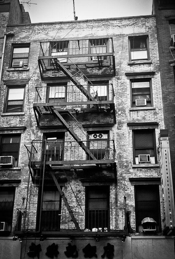 Industrial urban city scene decor nyc flat by brandMOJOimages, $25.00