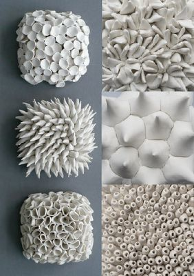 Ceramic natural forms from Element Clay Studio.  #curiosities #decor…
