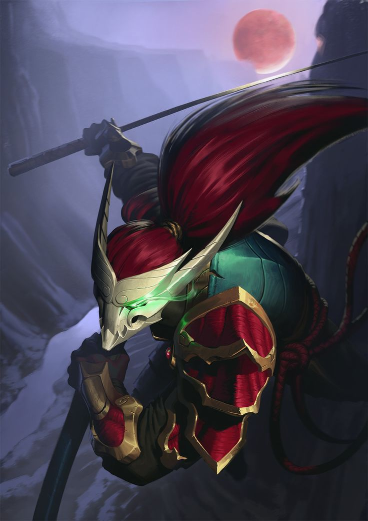 YSURIO - LEAGUE OF LEGENDS ART — Yasuo