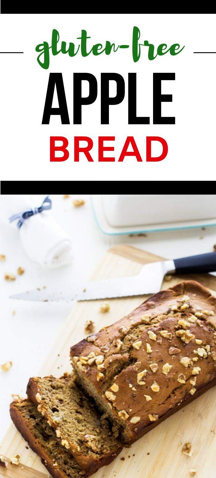 Gluten Free Apple Cinnamon Bread Recipe In 2020 Bread Recipes Sweet Food Gluten Free Recipes For Breakfast